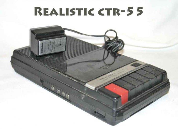 Realistic CTR-55 Cassette Recorder