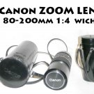 Canon FD Zoom Lens - 80-200mm 1:4 - With Carry Case