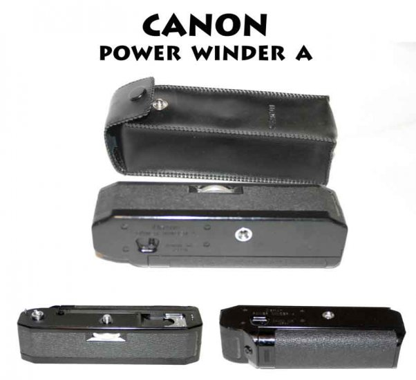 !SOLD!  CANON POWER WINDER A MOTOR DRIVE