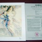 "SIGNED SERIO PETER NIXON ""MEMORIES OF FLORENCE I"""