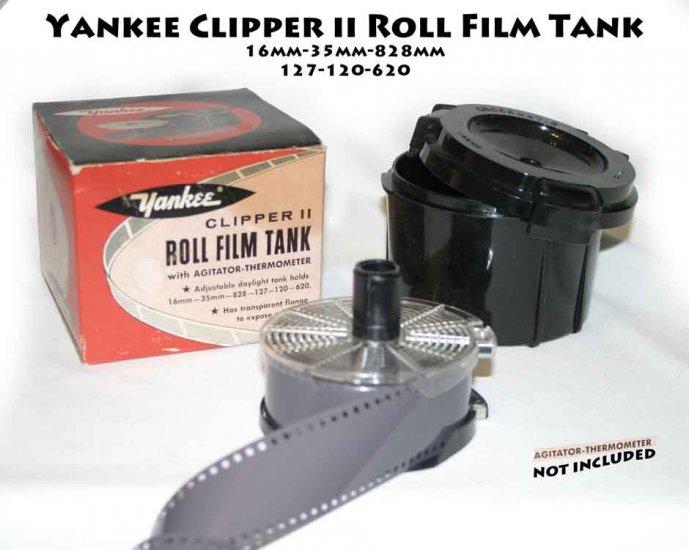 !SOLD! Yankee Clipper II Daylight Film Developing Tank