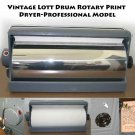Vintage Lott Drum Rotary Print Dryer-Professional Model