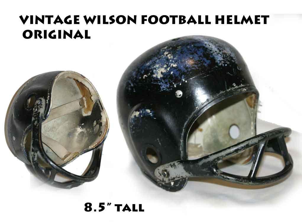 Item Has Been Sold Vintage Wilson Football Helmet Original