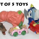 LOT OF 5 TOYS -