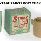 BOX VINTAGE PACKAGE STICKY TAPE