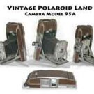 Vintage Polaroid Land Camera Model 95A
