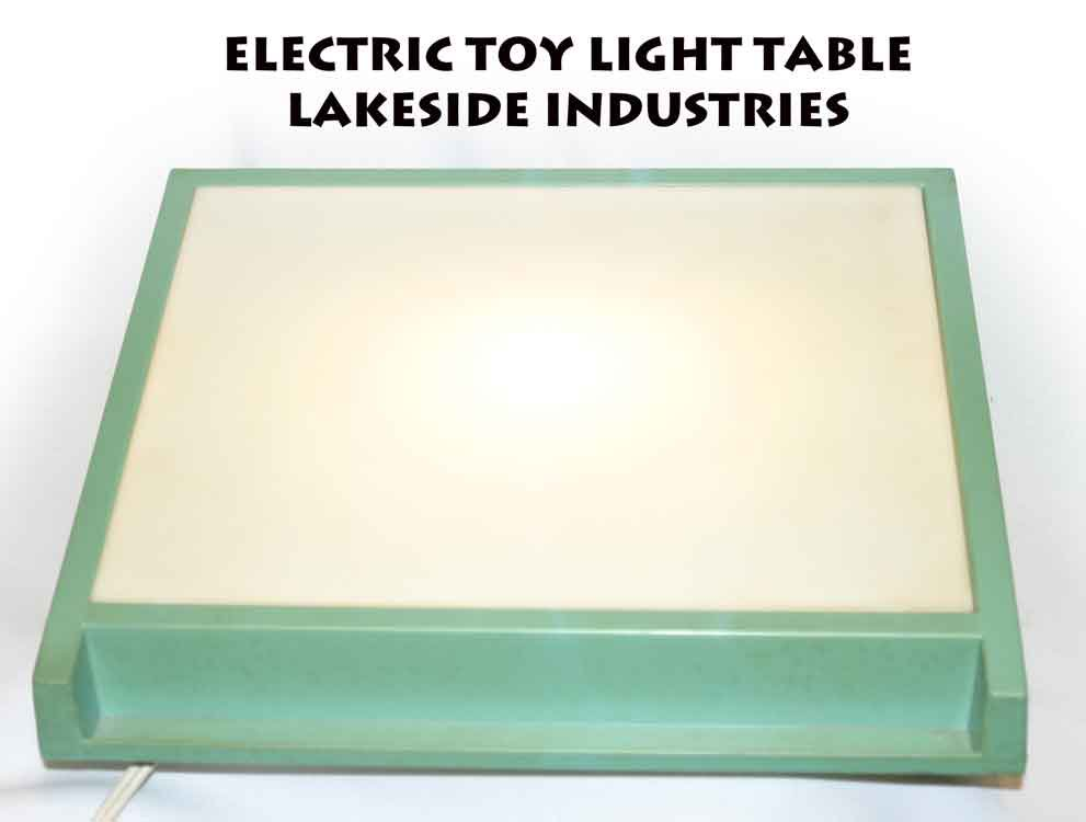 TOY LIGHT TABLE LAKESIDE INDUSTRIES