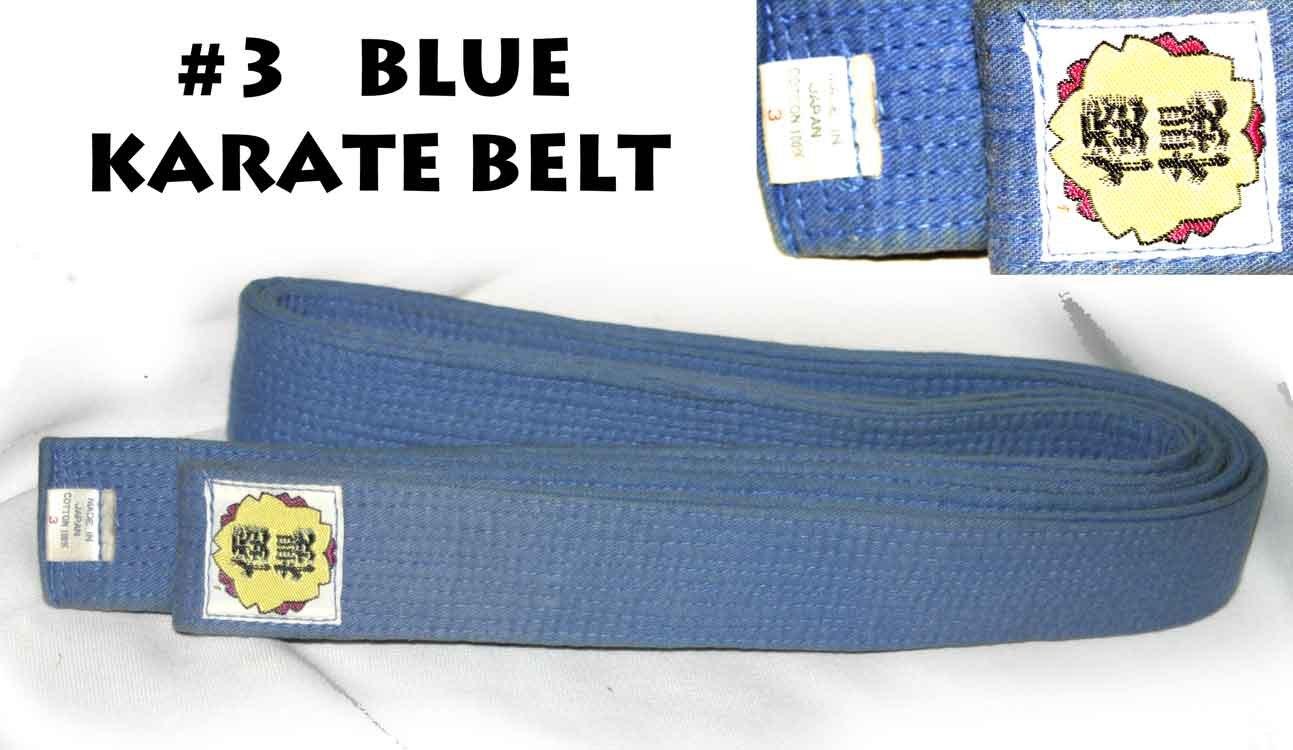 BLUE KARATE BELT  -