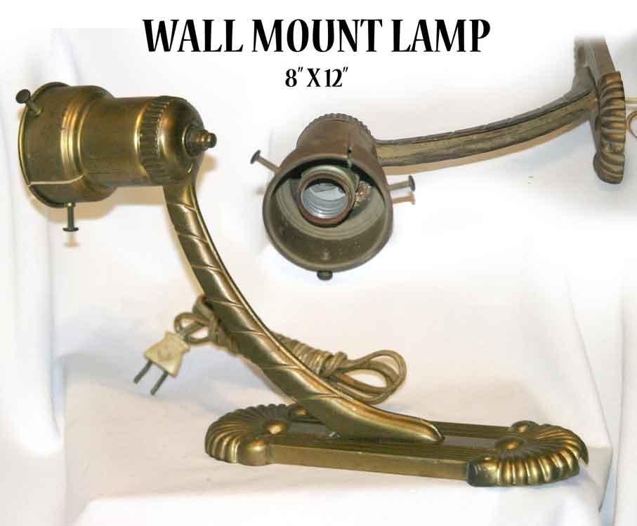 WALL MOUNT LAMP   8� X 12� -