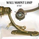 "WALL MOUNT LAMP   8"" X 12"" -"