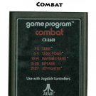 Vintage Atari 2600 Combat by Atari Cartridge