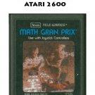 ATARI 2600 Math Gran Prix