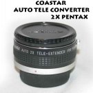 COASTAR AUTO TELE CONVERTER 2X FOR PENTAK K- MOUNT