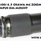 80-200/4.5 OSAWA MC ZOOM LENS IN OLYMPUS OM MOUNT