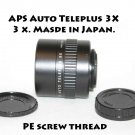 APS Auto Teleplus 3X  3 x. Made in Japan. PE screw thread