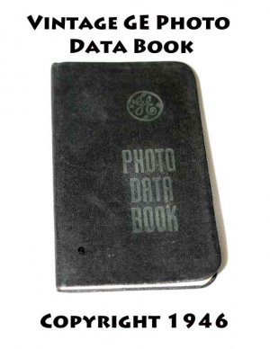 GE Photo Data Book 1950 [Paperback]