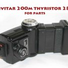 Vivitar 200m thyristor 285  nfor parts needs repair