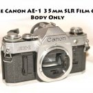Vintage Canon AE-1 35mm SLR Film Camera / Body Only