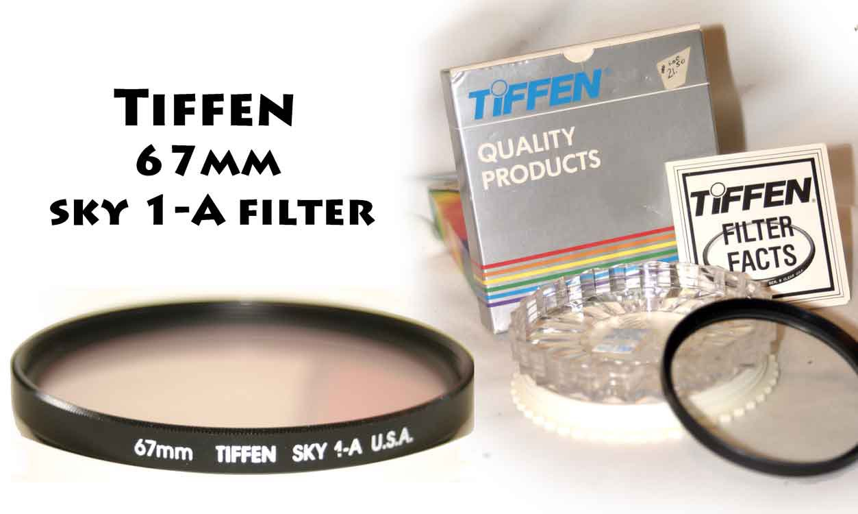 Tiffen 67mm sky 1-A filter