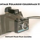 Vintage Polaroid Colorpack II Instant Pack Film Camera