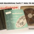 "4  USED RECORDING TAPE 7"" REEL TO REEL"