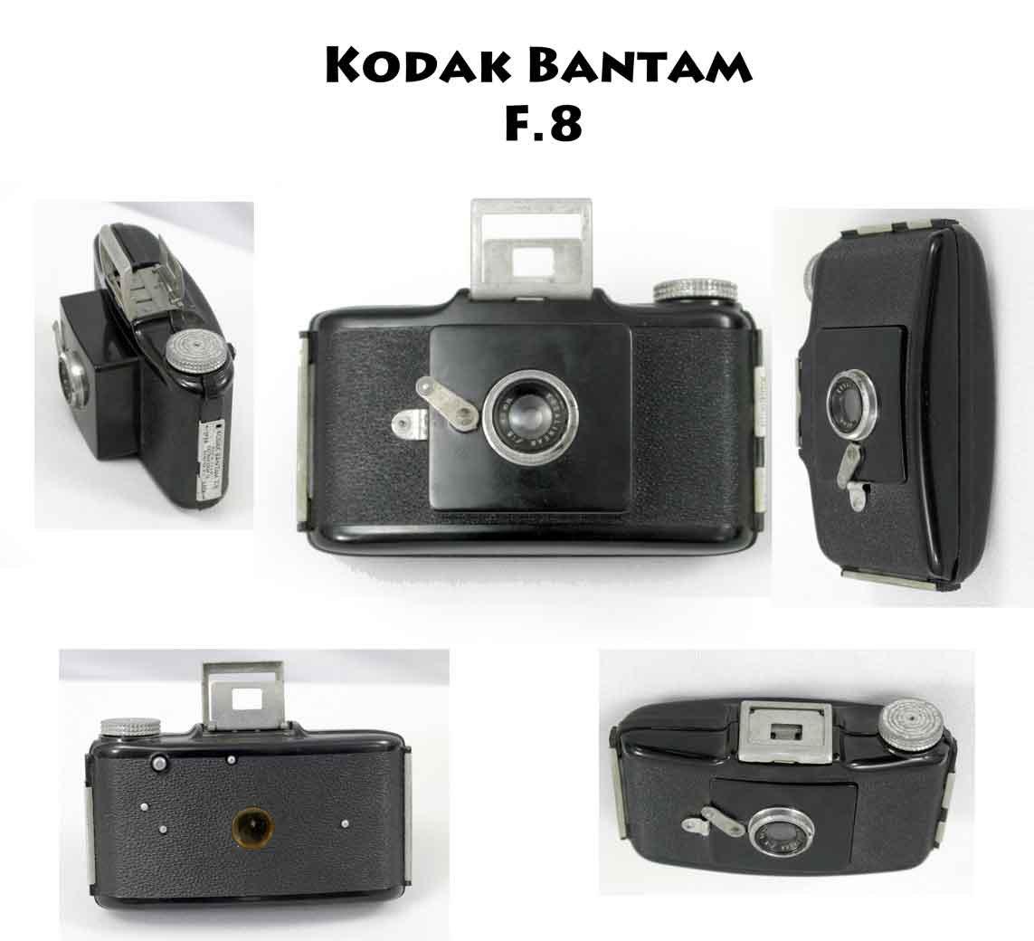 Vintage Kodak Bantam F.8 Compact Camera