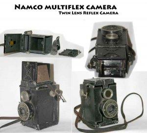 Namco multi - flex camera  Twin Lens Reflex Camera