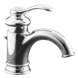 KOHLER K-12182-CP Fairfax Single Control Lavatory Faucet, Polished Chrome