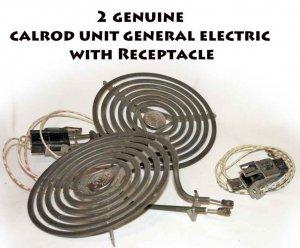 Sold 2 Genuine Calrod General Electric Ge Stove Burner