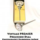 Vintage PREMIER Precision Dial Photography Darkroom JAPAN Thermometer NEW model 50-120