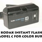 KODAK INSTANT FLASH MODEL C FOR COLOR BURST