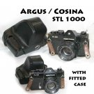 Argus / Cosina STL 1000 with 50mm f=1.8 lens comes with fitted case