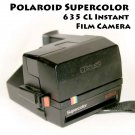 Polaroid Supercolor 635 CL Instant Film Camera