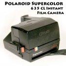 Polaroid Supercolor 635 CL Instant Film Camera