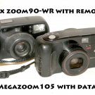 Pentax zoom90-WR with remote / and Canon Megazoom105 with data back