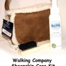 The Walking Company Sheepskin Care Kit  ! LIKE NEW