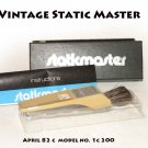 Vintage Static Master model no. 1c200  original box & instructions. Nuclear Product Co. California