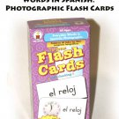 Carson-Dellosa Everyday Words in Spanish: Photographic Flash Cards