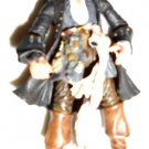"HM55 ZIZZLE PIRATES OF THE CARIBBEAN CAPTAIN JACK SPARROW 3.75"" ACTION FIGURE !!"