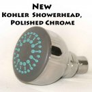 NEW Kohler  Showerhead, Polished Chrome