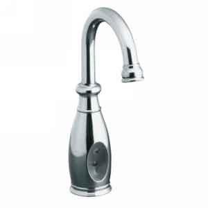 KOHLER K-10103-BN Wellspring Traditional Touchless Faucet, Vibrant Brushed Nickel