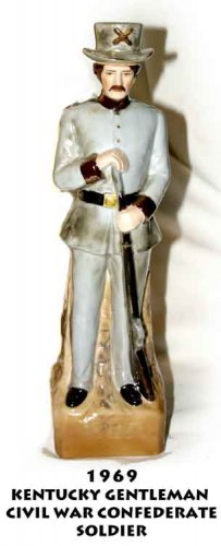 1969 KENTUCKY GENTLEMAN  CIVIL WAR CONFEDERATE SOLDIER
