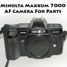 Minolta Maxxum 7000 AF Camera For Display or Parts