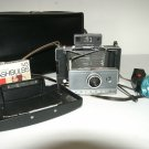 "Polaroid 100 Automatic Land ""Mad Men"" Camera with case, bulbs, book"