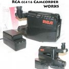 RCA CC416 Camcorder with 'AMBICO' CASE BUILD IN LIGHT