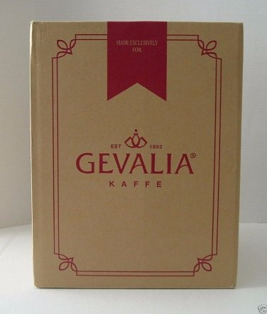 Gevalia 12 Cup Automatic Coffee Maker CM100 White G35 New Unopened box