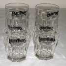 Set of 4 Vintage Early Times Whiskey Rocks Glasses-Libbey Dura Tuff USA 12 oz