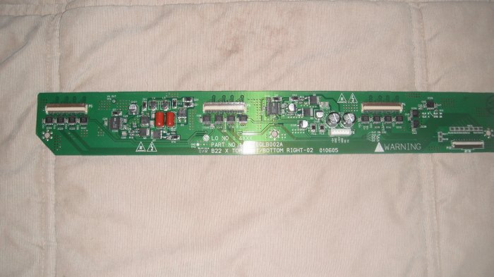 LG 6870QLB002A  LEFT/ BOTTOM RIGHT