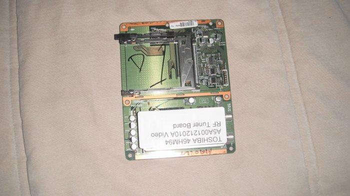 TOSHIBA 46HM94  A5A001212010A Video RF Tuner Board