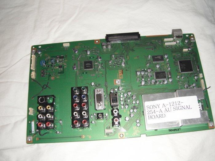 SONY A-1212-254-A AU SIGNAL BOARD